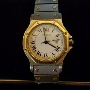 Cartier Santos Octagon Automatic Watch